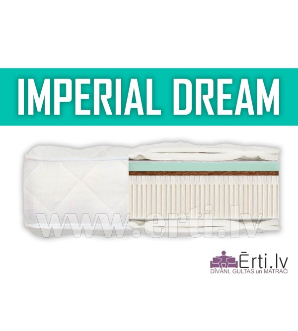 Imperial Dream - Elitārs lateksa matracis ar Memor...
