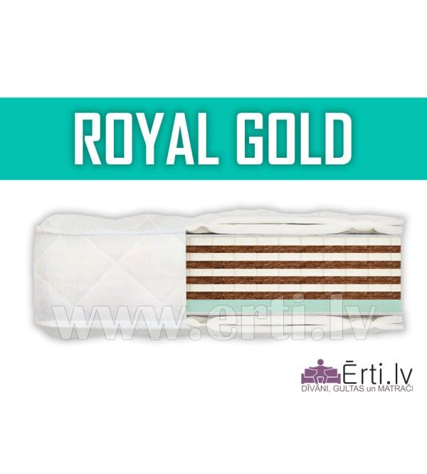 Royal Gold - Bezatsperu matracis ar atmiņas efektu...