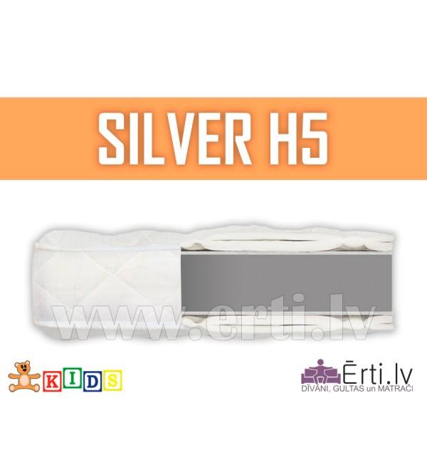 Silver H5 - Kvalitatīvs bērnu matracis