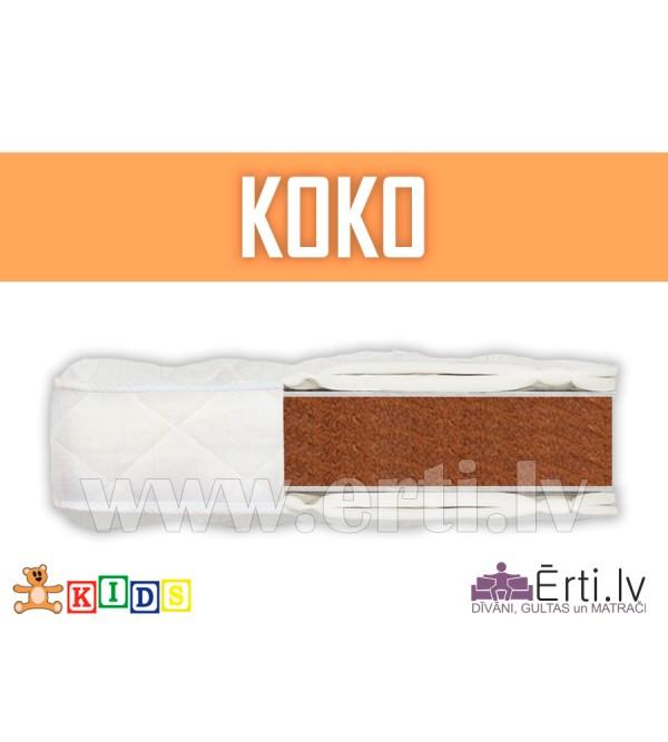 Koko - Hipoalerģisks kokosa matracīts bērniem