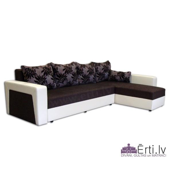 Simba Big - Liels izvelkams stūra dīvāns-gulta