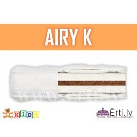 Airy K - Hipoalerģisks bērnu matracis ar kokosu