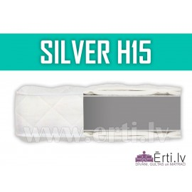 Silver H15 - Komfortabls bezatsperu matracis.