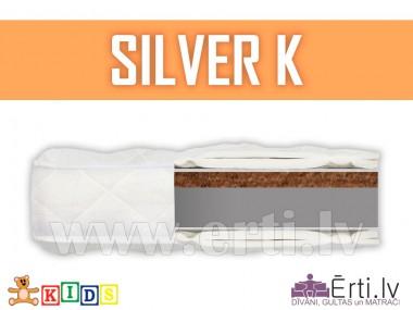 Silver K - Bērnu matracis ar kokosu