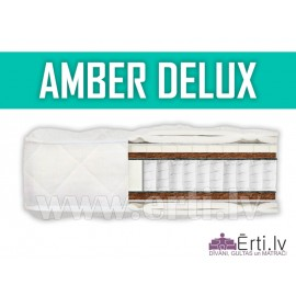Amber Delux - Elitārs matracis ar lateksu un kokosriekstu šķiedru.