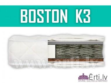 Boston K3 - Divpusējs ortopēdiskais matracis ar kokosu