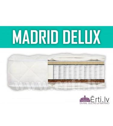 Madrid DeLux - Mūsdienīgs, labi ventilējams matrac...