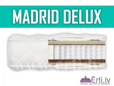 Madrid DeLux - Mūsdienīgs, labi ventilējams matracis