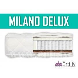 Milano DeLux - Kvalitatīvs gultas matracis ar lat...
