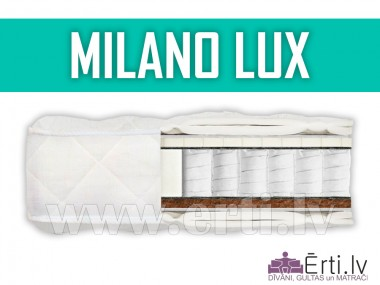 Milano Lux - Качественный матрас с латексом и кокосовой койрой