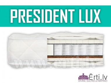 President LUX - Mīksts matracis ar lateksu un kokosu