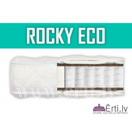 Rocky ECO - Ortopēdisks pocket matracis ar kokosu