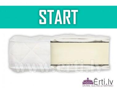 Start - Lēts bezatsperu matracis ar ortopedisko efektu