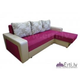 Simba ST - Stiligs izvelkamais stūra dīvāns-gulta
