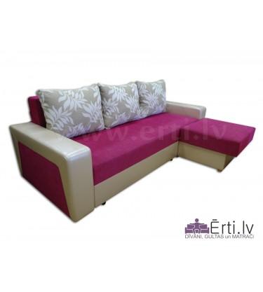 Simba ST - Stiligs izvelkamais stūra dīvāns-gulta ...