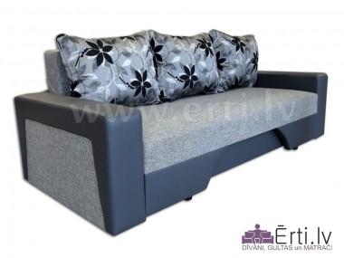 Simba M - Mūsdienīgs izvelkamais dīvāns-gulta - Simas