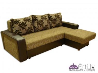 Simba ST - Mūsdienīgs stūra dīvāns-gulta