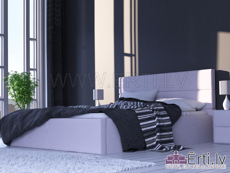 Horizont LUX – Mūsdienīga gulta ar veļaskasti
