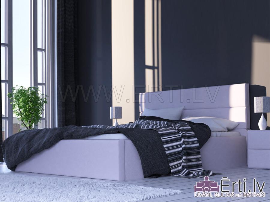 Horizont – Mūsdienīga dizaina gulta no eko-ādas