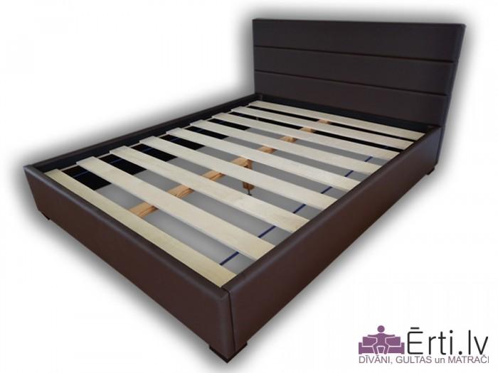 Horizon Lux – Mūsdienīga dizaina gulta no eko-ādas