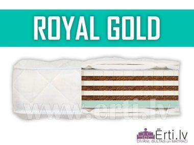 Royal Gold – Беспружинный матрас с латексом, кокосом и эффектом памяти