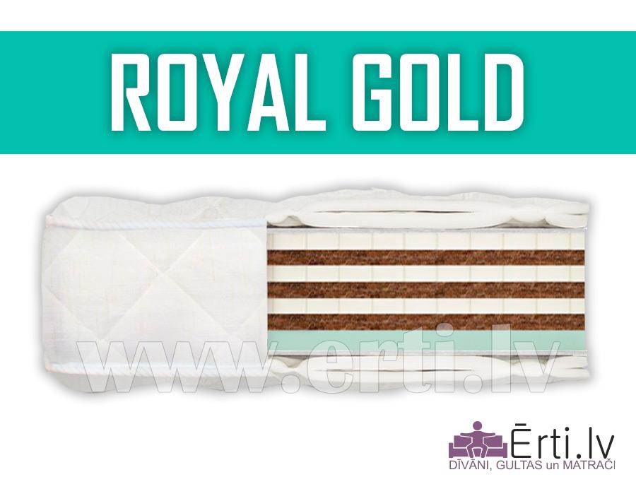 Royal Gold – Bezatsperu matracis ar atmiņas efektu