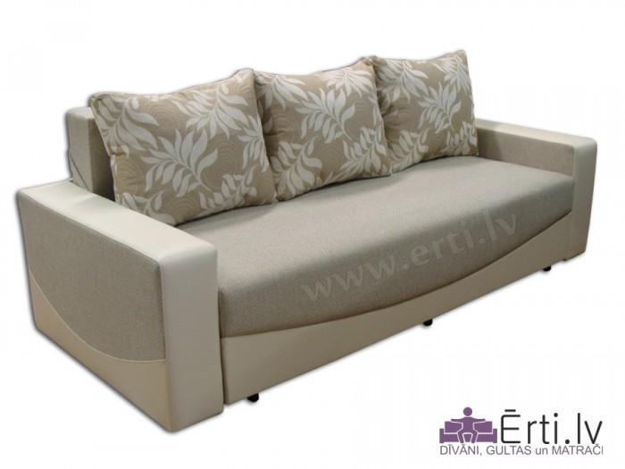 Effekt – Mūsdienīgs izvelkams dīvāns-gulta