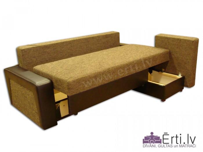 Simba ST – Mūsdienīgs stūra dīvāns-gulta
