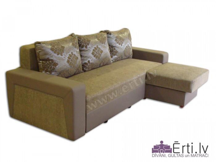 Simba ST – Stilīgs izvelkamais stūra dīvāns-gulta