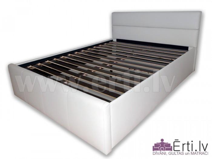 Romeo + Silver H15 – Mūsdienīgas ādas gultas un bezatsperu matrača komplekts tikai 479 Eur