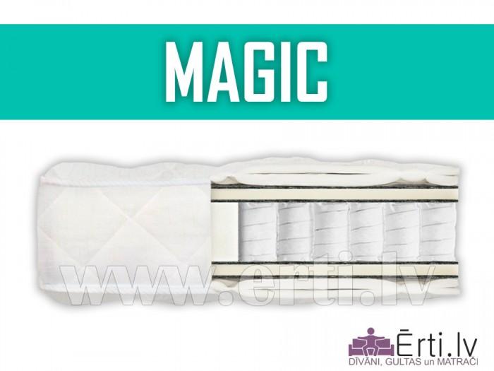 Romeo + Magic – Комплект: двухспальная кровать с pocket матрасом всего 459,- Eur