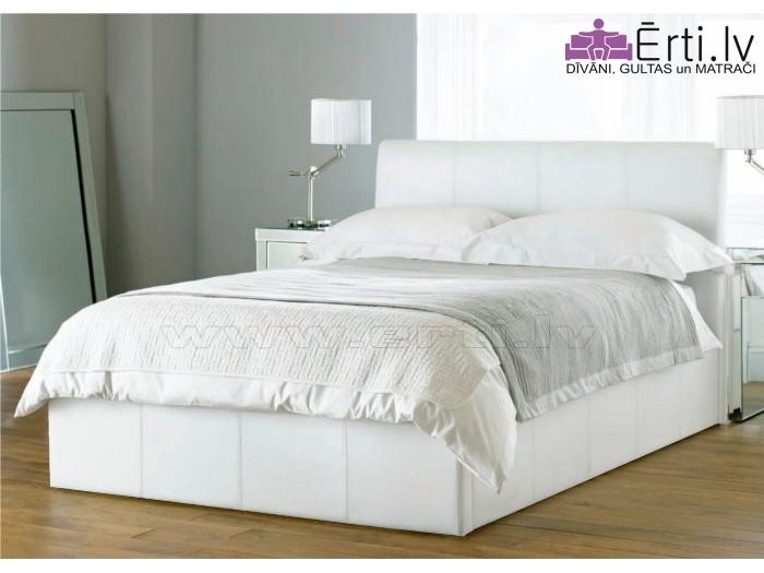 Ella – Mūsdienīga eko-ādas gulta – Laba cena