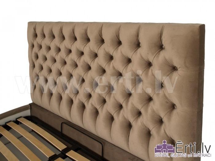 Gulta Cambridge plus ar veļaskasti + matracis 160x200cm