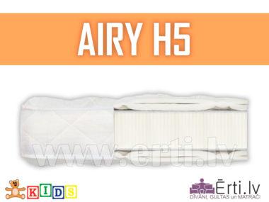 Airy H5 – Hipoalerģisks bērnu matracis