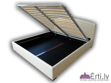1398Classic LUX plus – Mūsdienīga gulta ar veļaskasti