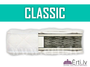 Classic – Labs un lēts atsperu matracis