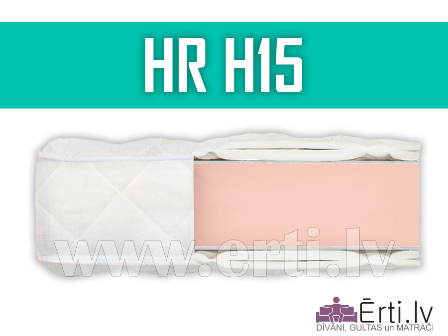 HR H15 – Labs bezatsperu matracis