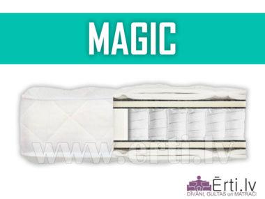 Magic – Populārākais Pocket atsperu matracis