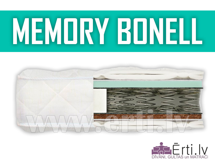 Memory Bonnell – Ērts un lēts memory matracis