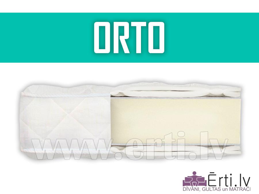Orto – Дешевый беспружинный матрас