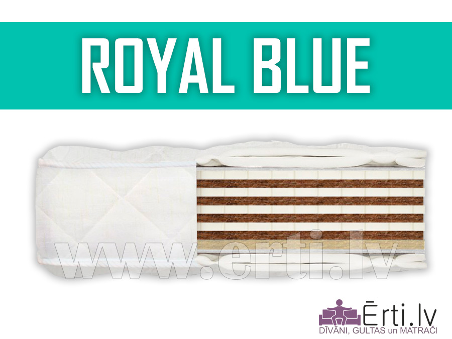 Royal Blue – Elitārs bezatsperu matracis