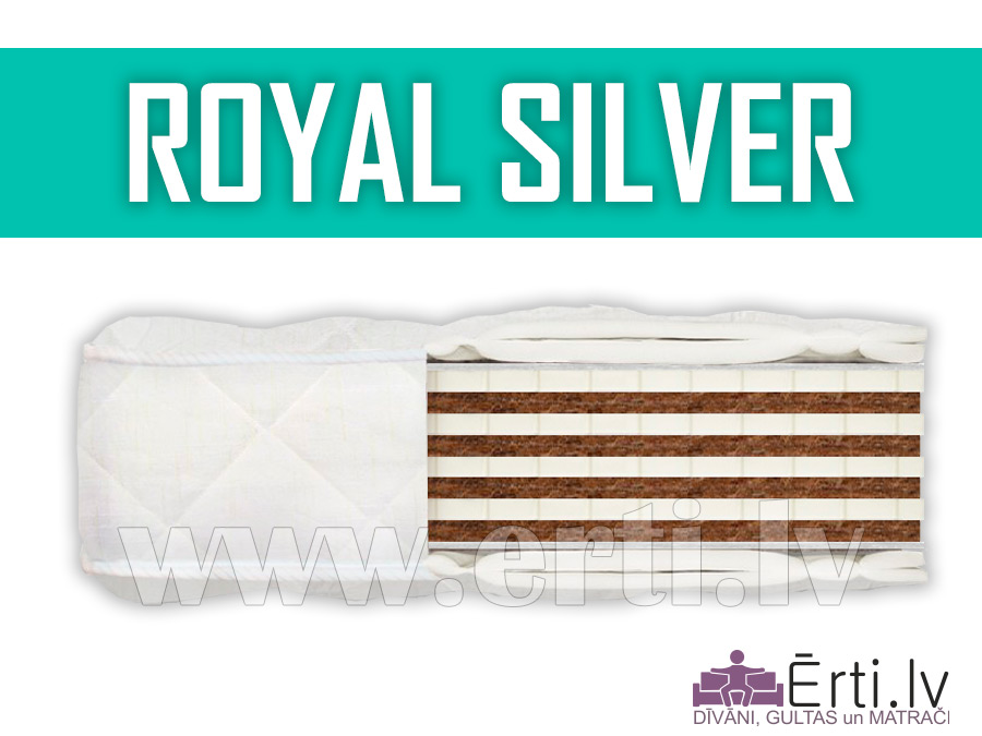 Royal Silver – Ciets bezatsperu matracis
