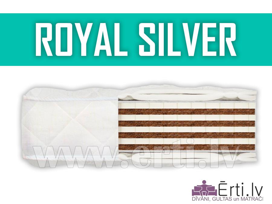 Royal Silver – Vidēji ciets bezatsperu matracis