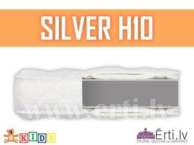 Silver H10 – Bērnu matracis