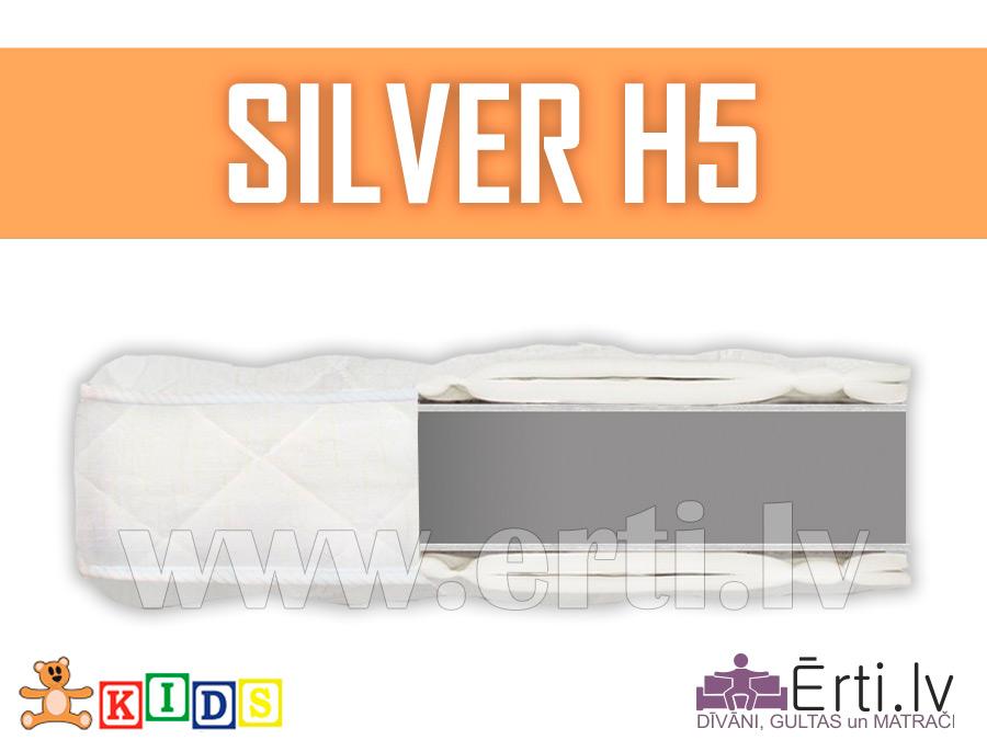 Silver H5 – Kvalitatīvs bērnu matracis