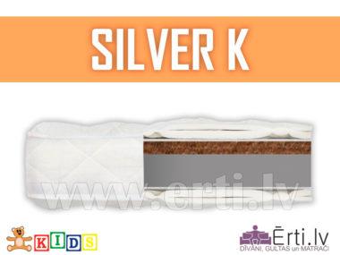 Silver K – Bērnu matracis ar kokosu