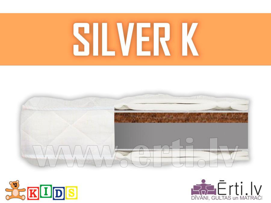 Silver K – Детский матрас с кокосом