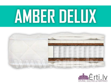 Amber Delux  – Элитный Multi Pocket матрас с латексом