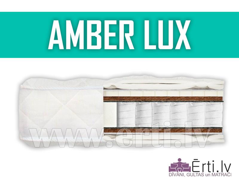 Amber Lux – Качественный матрас с латексом