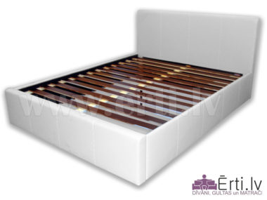 1560Ella – Mūsdienīga eko-ādas gulta – Laba cena